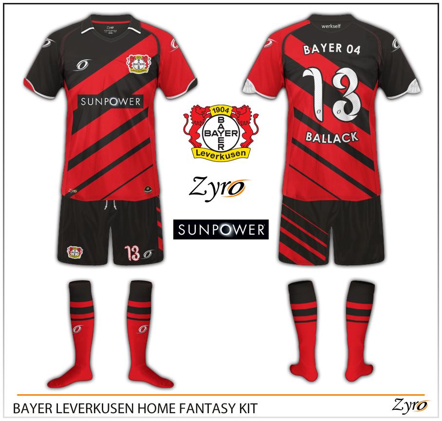 divisa calcio Bayer 04 Leverkusen Acquista